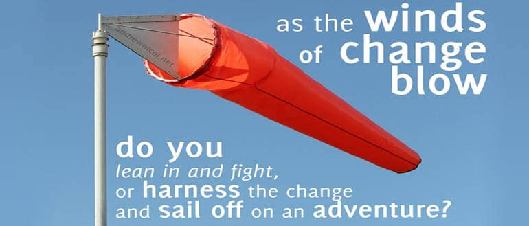 Winds Of Change! – How we build a team to change the world!